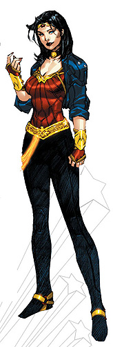 Wonder Woman new costume