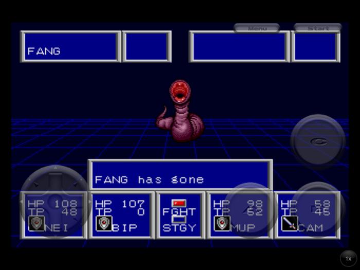 Phantasy Star II Fang Has Gone