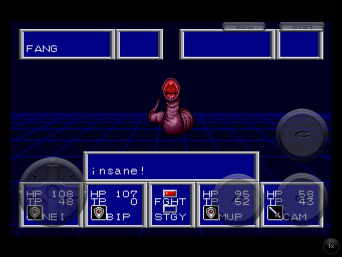 Phantasy Star II Fang Insane