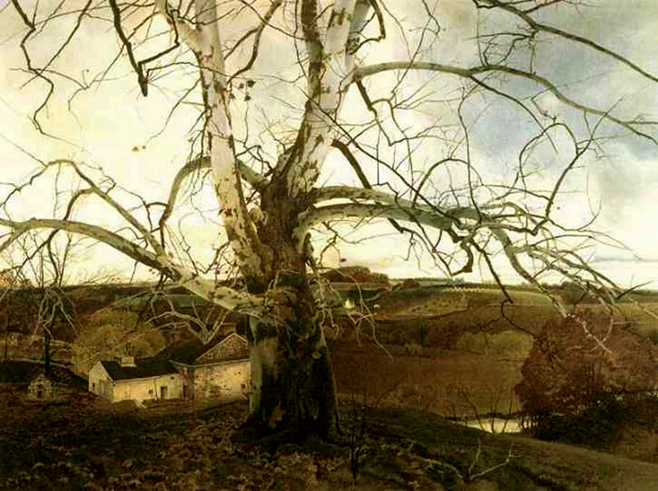 Pennsylvania Landscape, by Andrew Wyeth