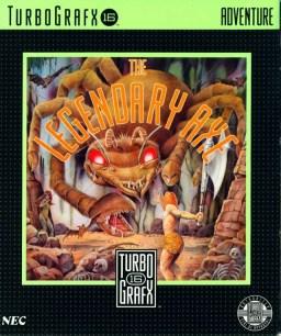 Legendary Axe Turbo Grafx 16 Cover