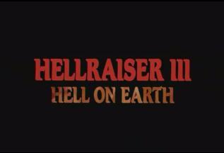 Hellraiser III Titles