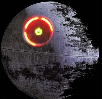 Red Ring of Death Star