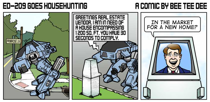 ED-209 Goes Househunting