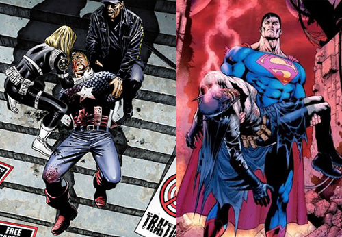 Captain America and Batman Dead