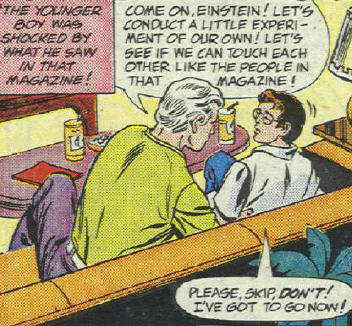 Peter Parker gets the Bad Touch