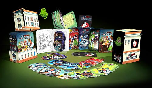 Real Ghostbusters Cartoon DVDs