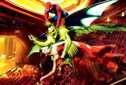 Green Goblin in Spider-Man: Turn off the Dark