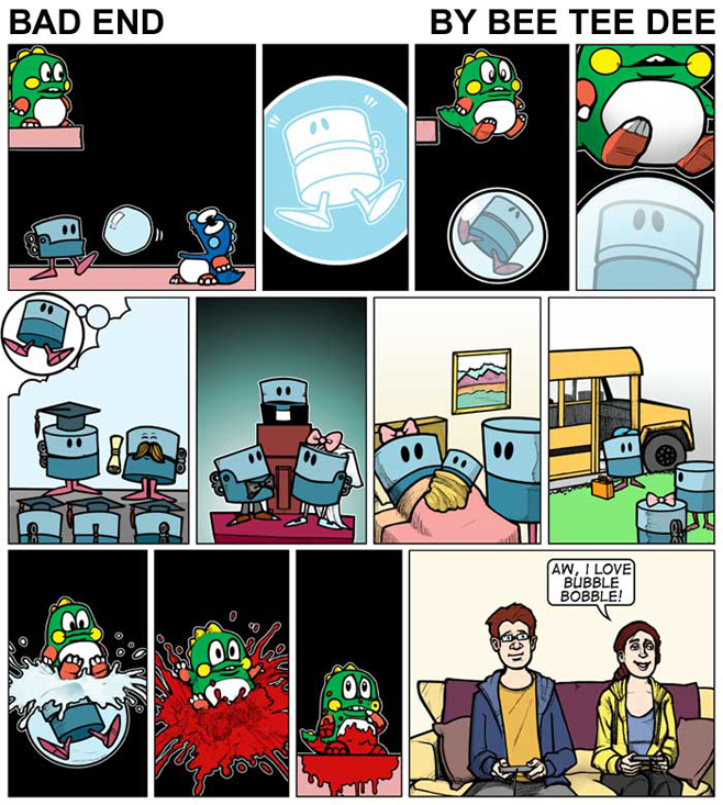 Bubble Bobble: Bad End