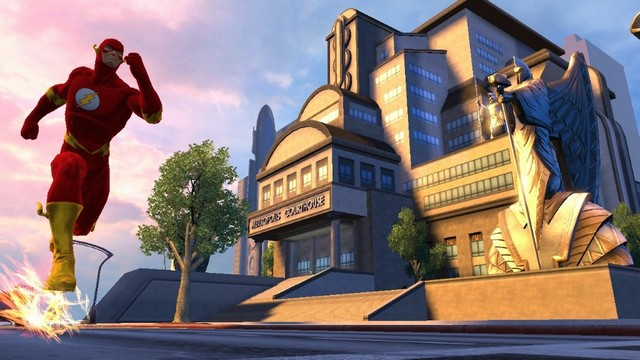 DCUO Flash Metropolis Courthouse