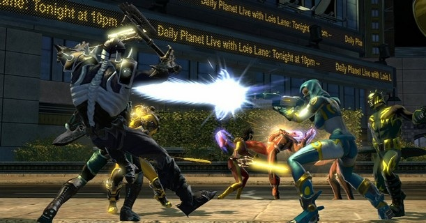 DCUO Battle Rages