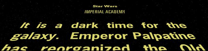 Star Wars Imperial Academy
