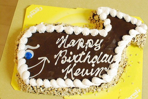 Birthday Cake Images With Name Kevin : A Birthday Reflection - Fudgie The Whale and Polar Bears ...