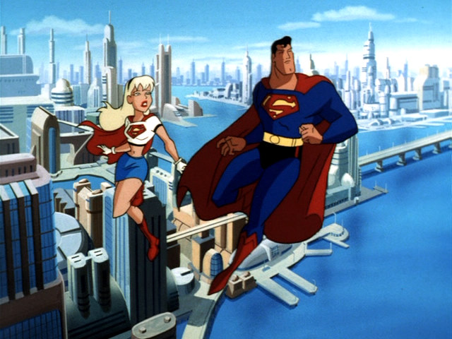 Superman Supergirl Animated