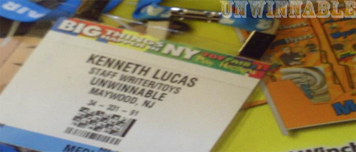 Unwinnable Toy Fair Badge