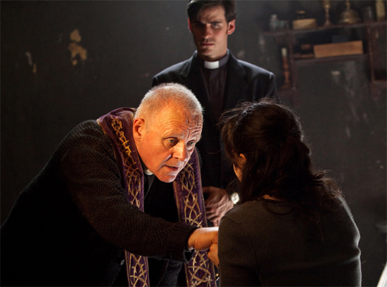 The Rite Anthony Hopkins Exorcism