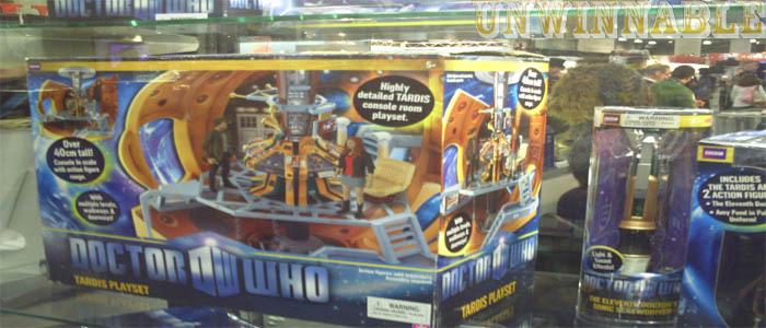 Toy Fair Doctor Who TARDIS Control Room Set