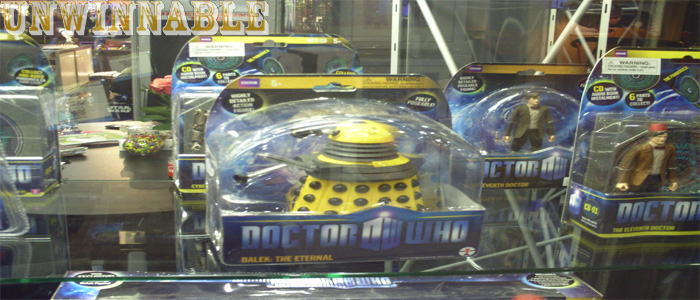 Toy Fair Doctor Who Yellow Dalek