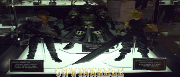 Toy Fair Final Fantasy Squall, Cloud, Gabran