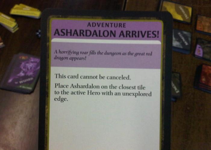 Ashardalon arrives