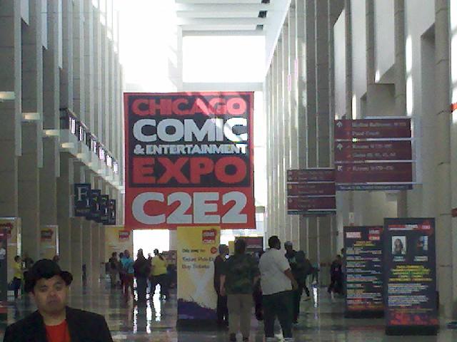 C2E2 Main Lobby