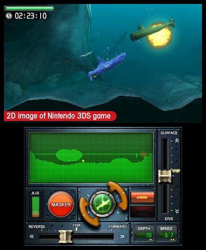 Steel Diver Battle