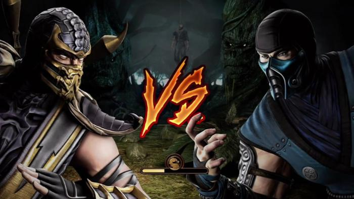 sub zero vs scorpion mortal kombat. Mortal Kombat Scorpion Vs Sub