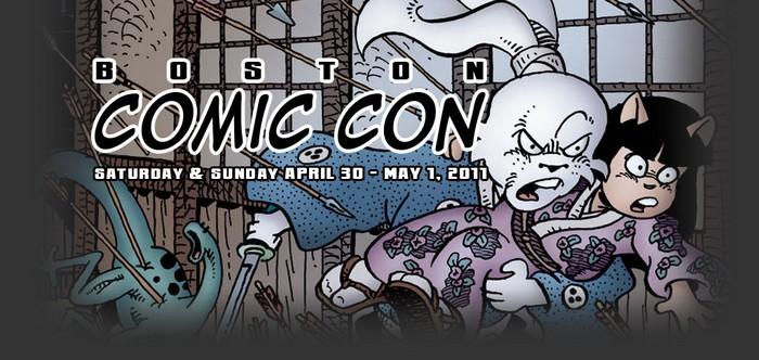 Boston Comic Con Banner
