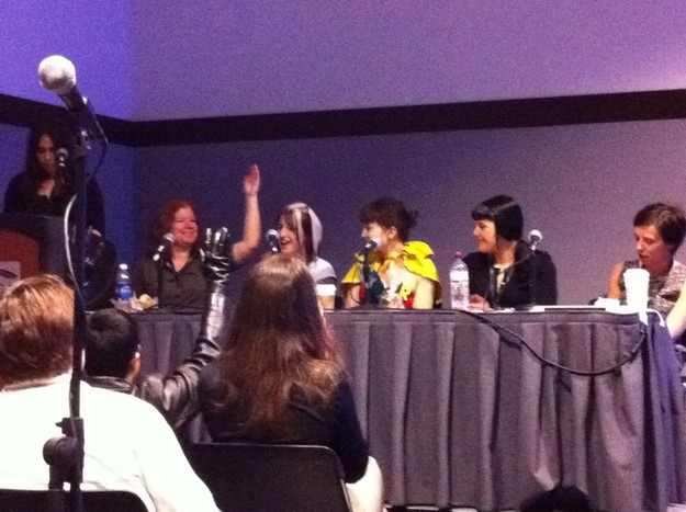Boston Comic Con Female Comic Panel