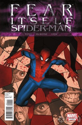 Fear Itself Spider Man 1