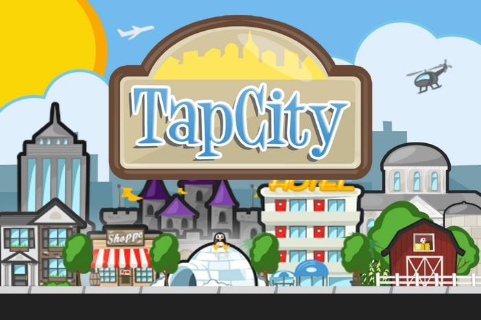 Tap City Splash Screen