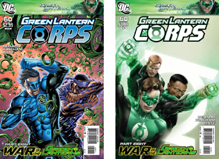 Green Lanter Corps #60