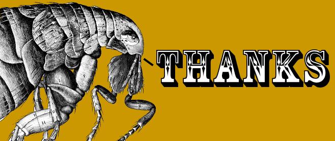 Geek Flea 2 - Thank You!