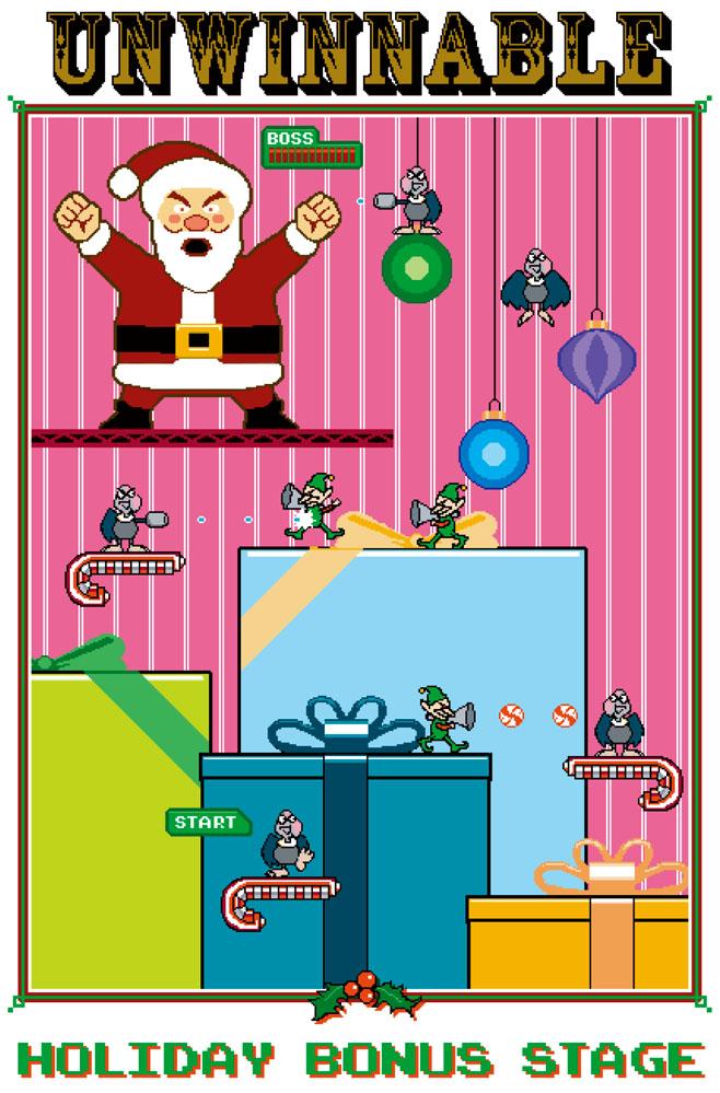 Unwinnable 2011 Holiday Card