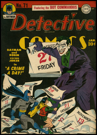 Jerry Robinson Detective #71 cover