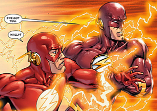 The death of barry allen is the best case for the impact of death on
