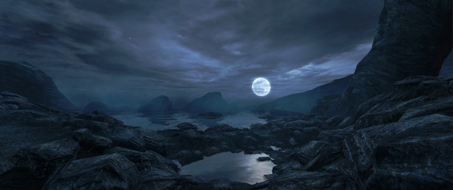 Dear Esther - Moon