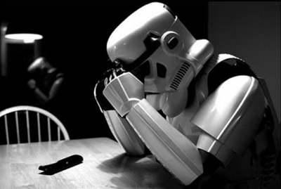 Sad Trooper