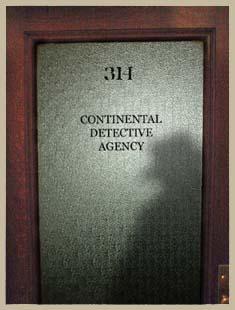 Continental Op Office Door