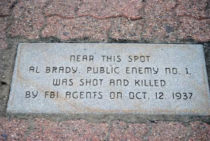 Al Brady Plaque
