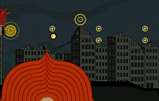 Sound Shapes - Cities - night