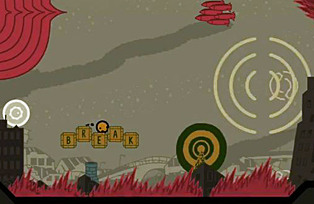 Sound Shapes - Cities - missiles