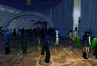 Star Wars Galaxies - crowd