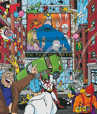 The Tick - Heroes Of The City