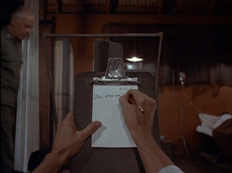 M*A*S*H - Point of View - Notepad