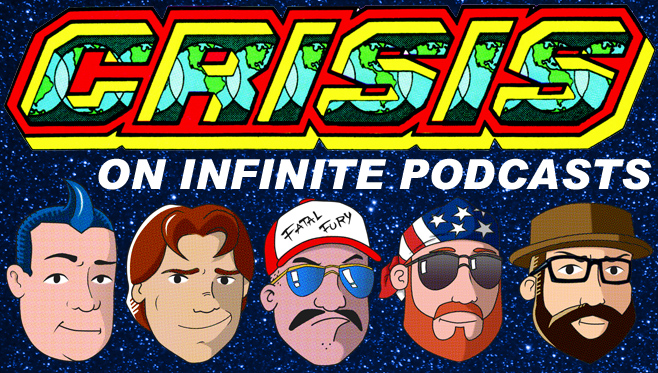 Crisis on Infinite Podcasts Header