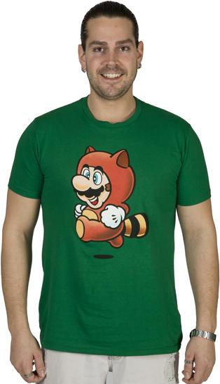 Tanooki Mario shirt