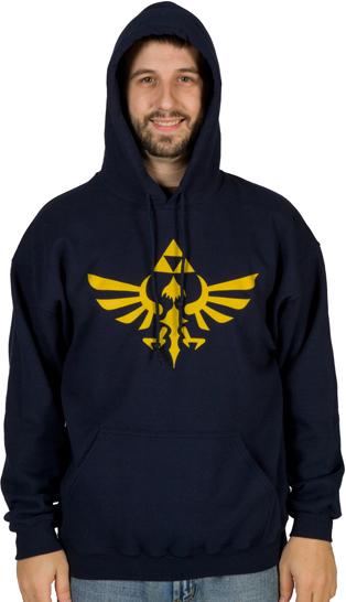 Zelda Tri-Force Hoodie