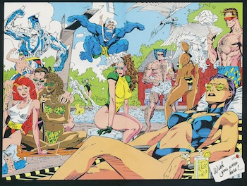 xmen pool party