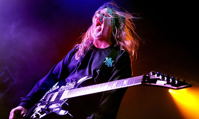 Jeff Hanneman of Slayer